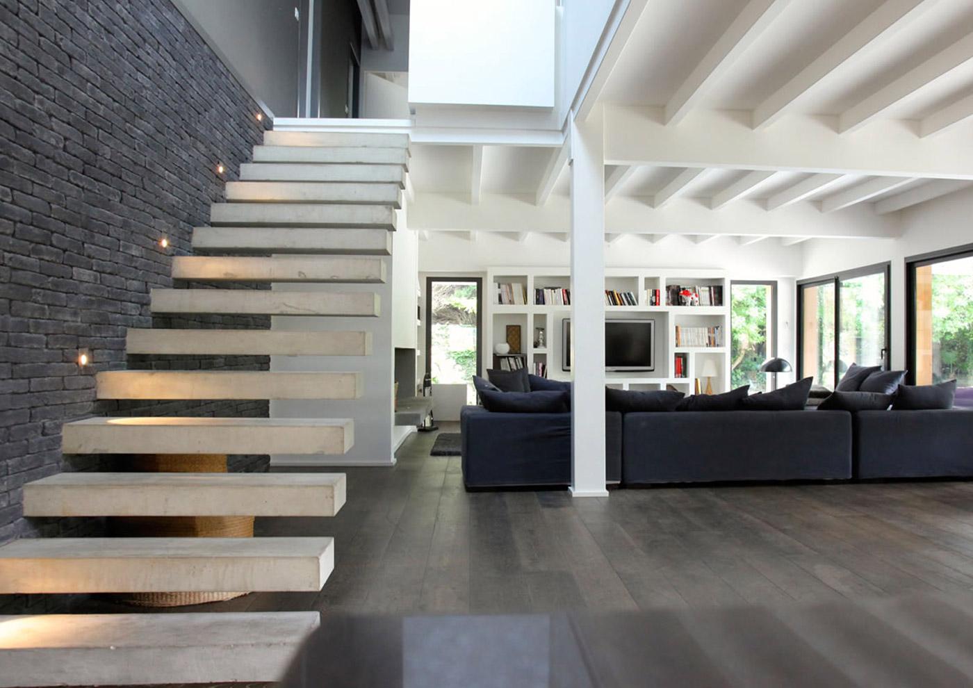 Alaman Architectes Maison Individuelle Anglet - Construction Pays Basque, architecture contemporaine