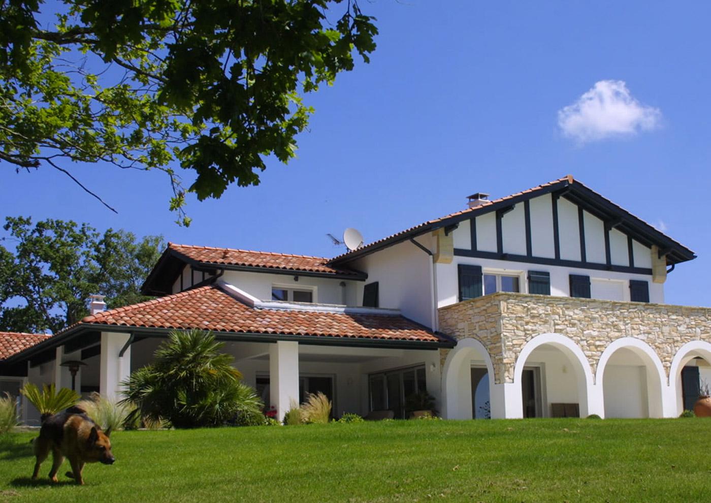 Alaman Architectes Maison Individuelle D Arcangues - Construction Pays Basque, architecture contemporaine
