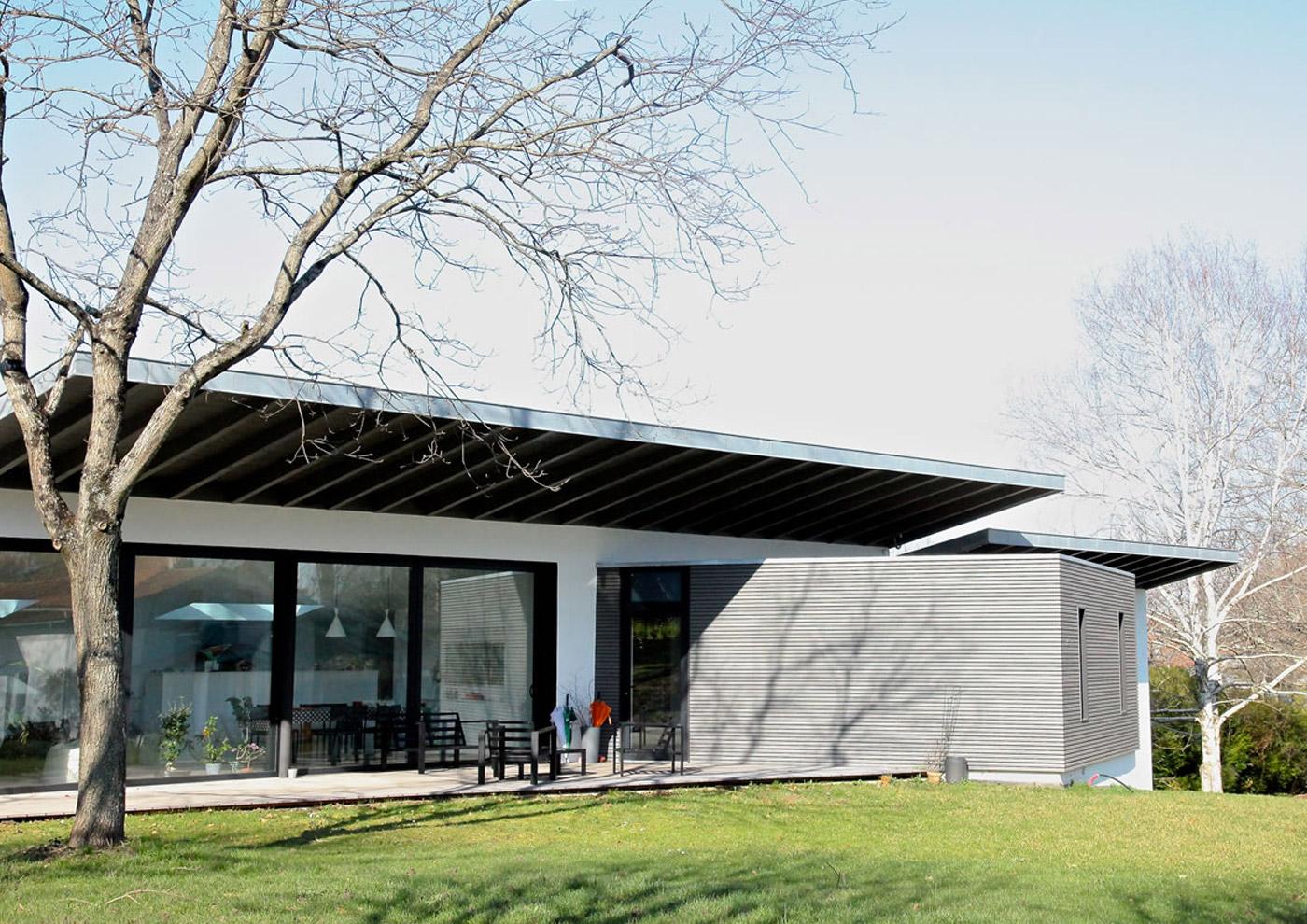 Alaman Architectes Maison Individuelle - Construction Pays Basque, architecture contemporaine