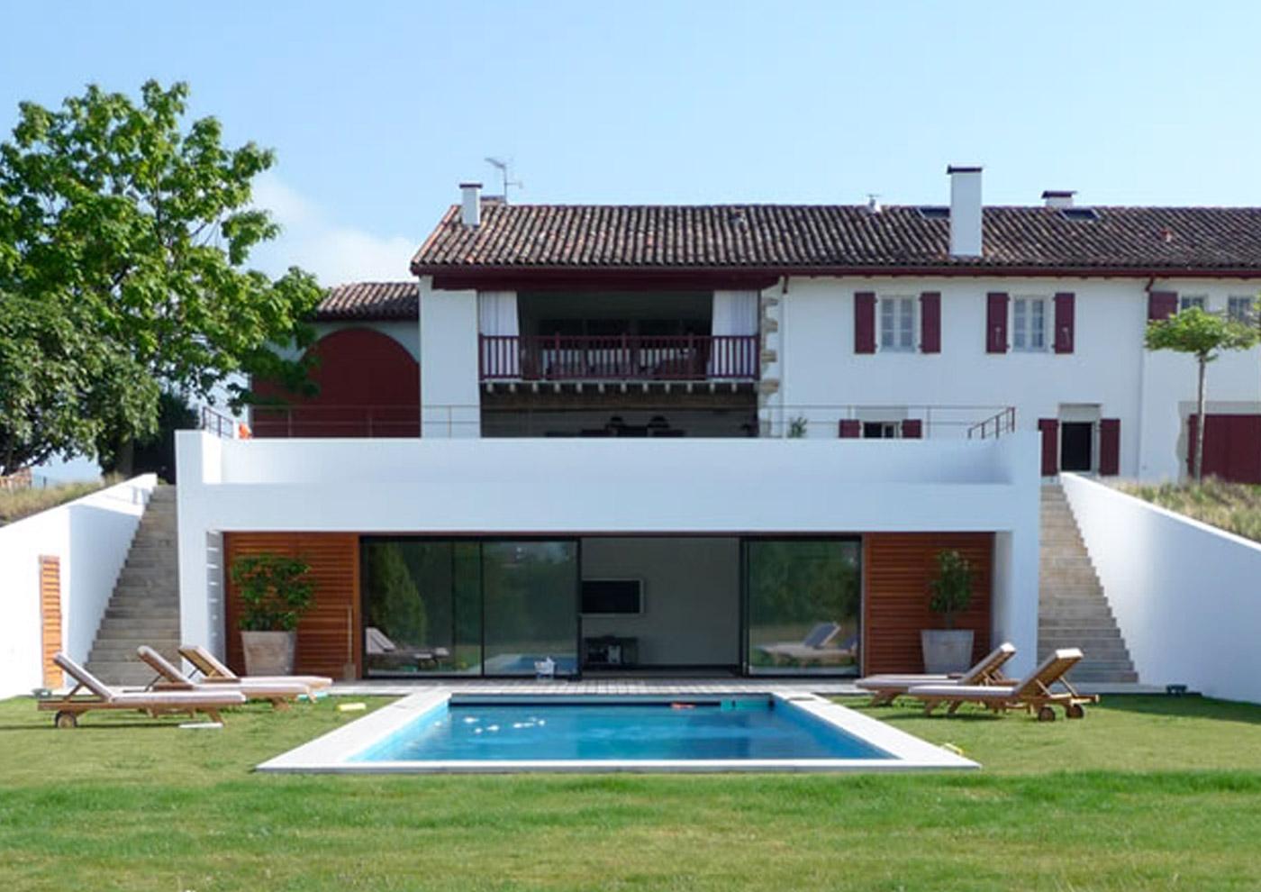 Alaman Architectes Renovation Ahetze - Construction Pays Basque, architecture contemporaine