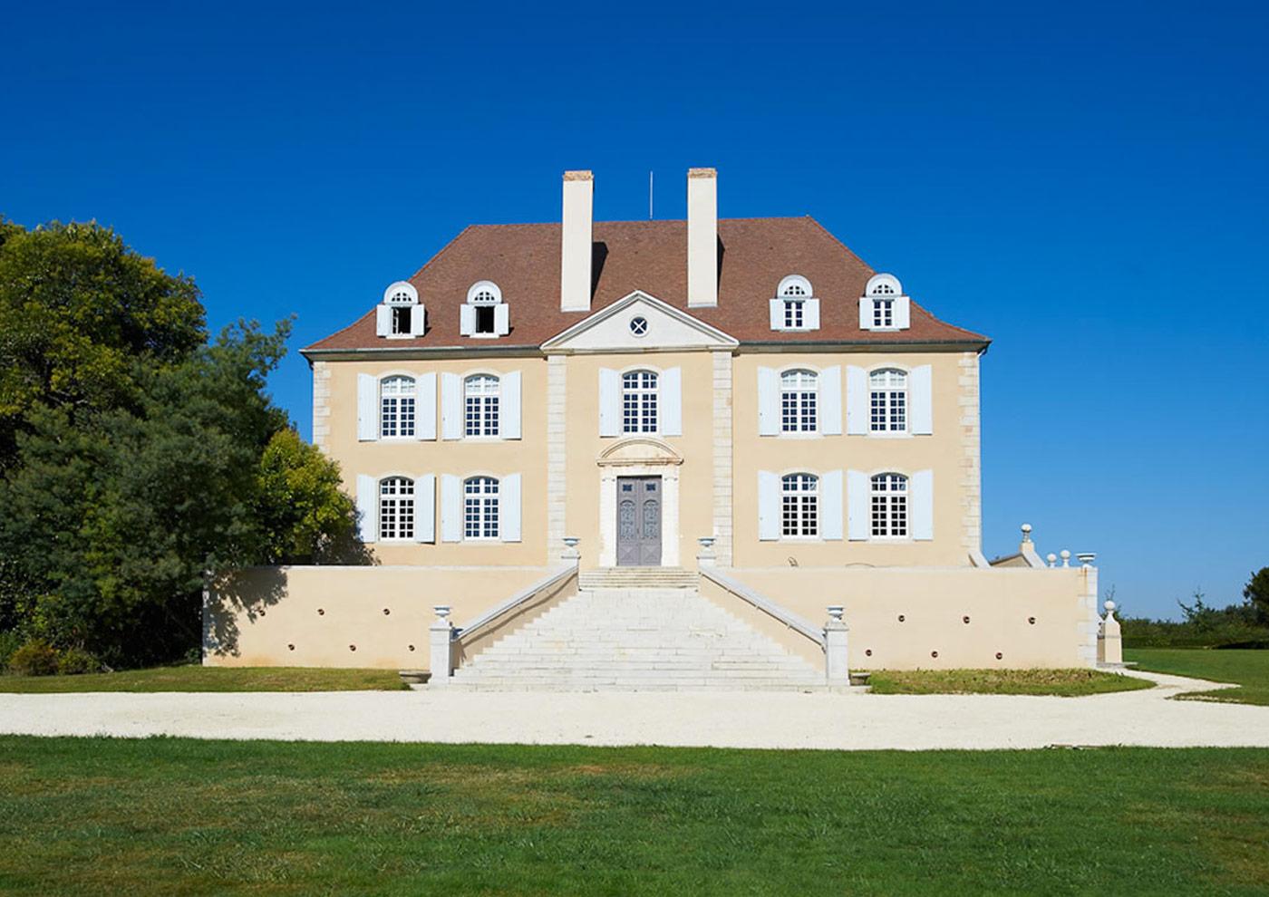 Alaman Architectes Renovation Chateau Gayrosse - Construction Pays Basque