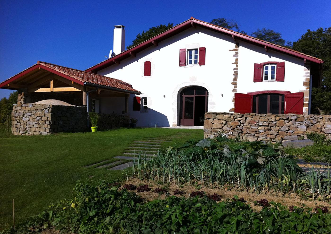 Alaman Architectes Renovation Maison Bardos - Construction Pays Basque