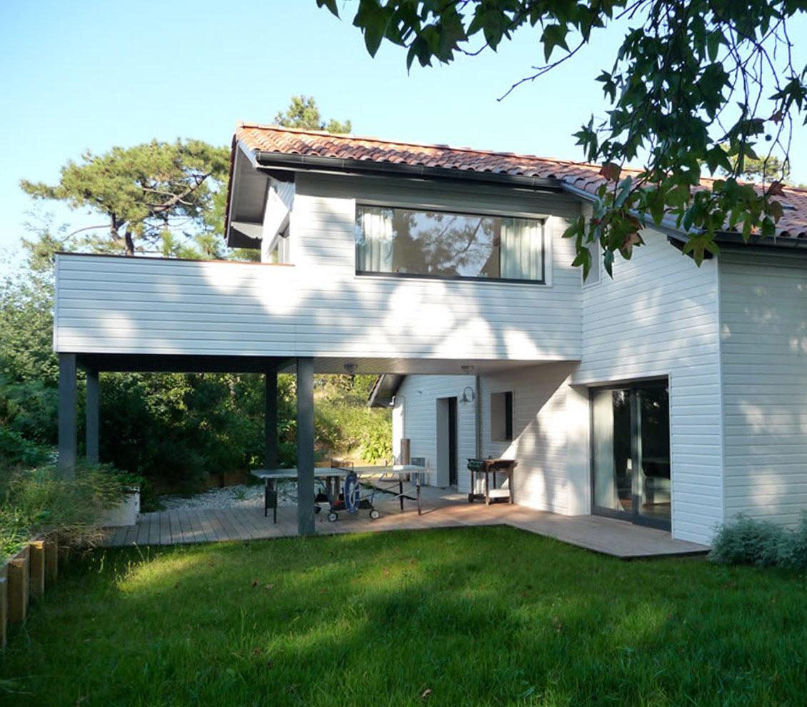 Alaman Architectes Renovation Villa Anglet - Construction Pays Basque, architecture contemporaine