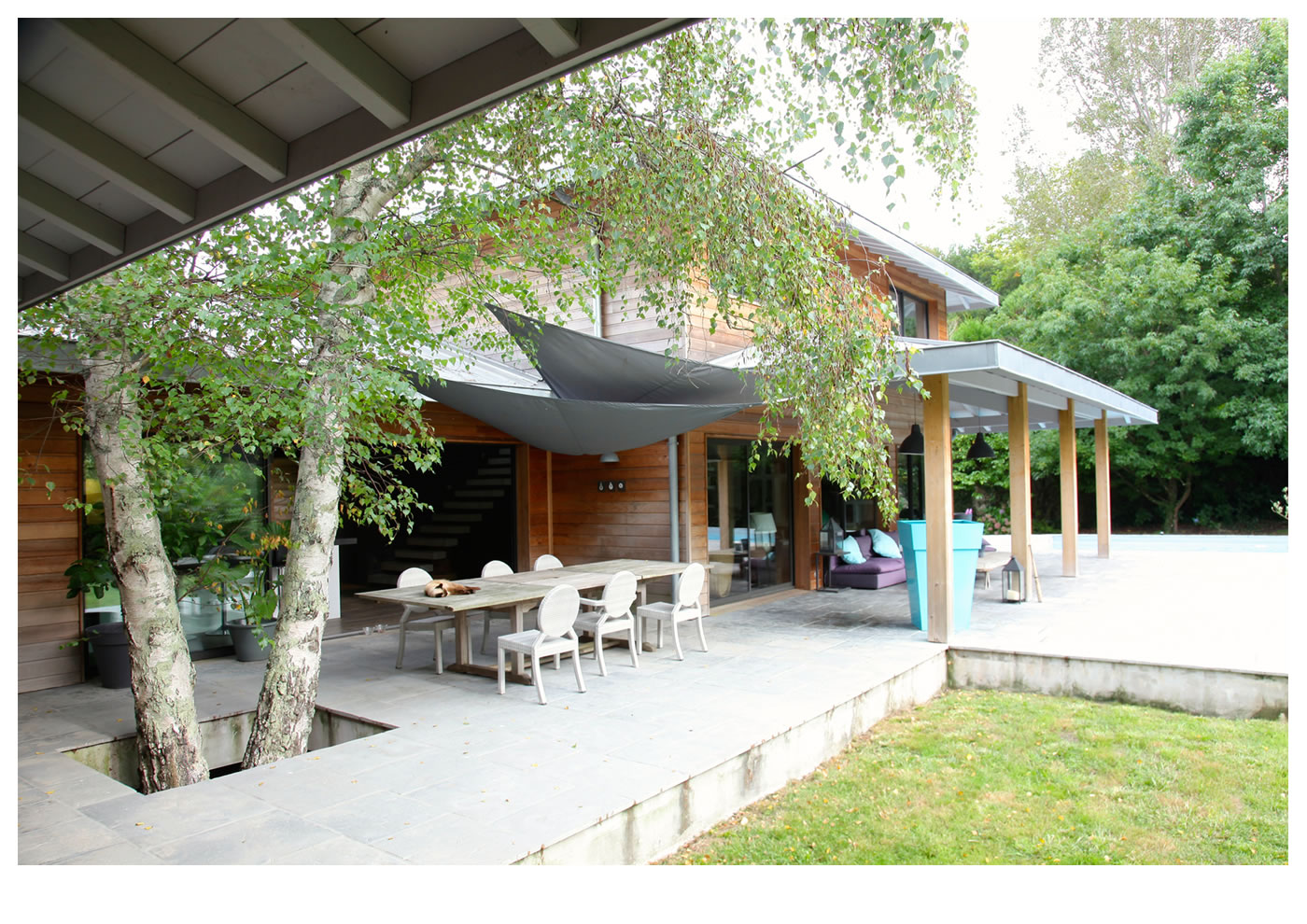 Maison individuelle l alaman macdonald for Maisons errobi