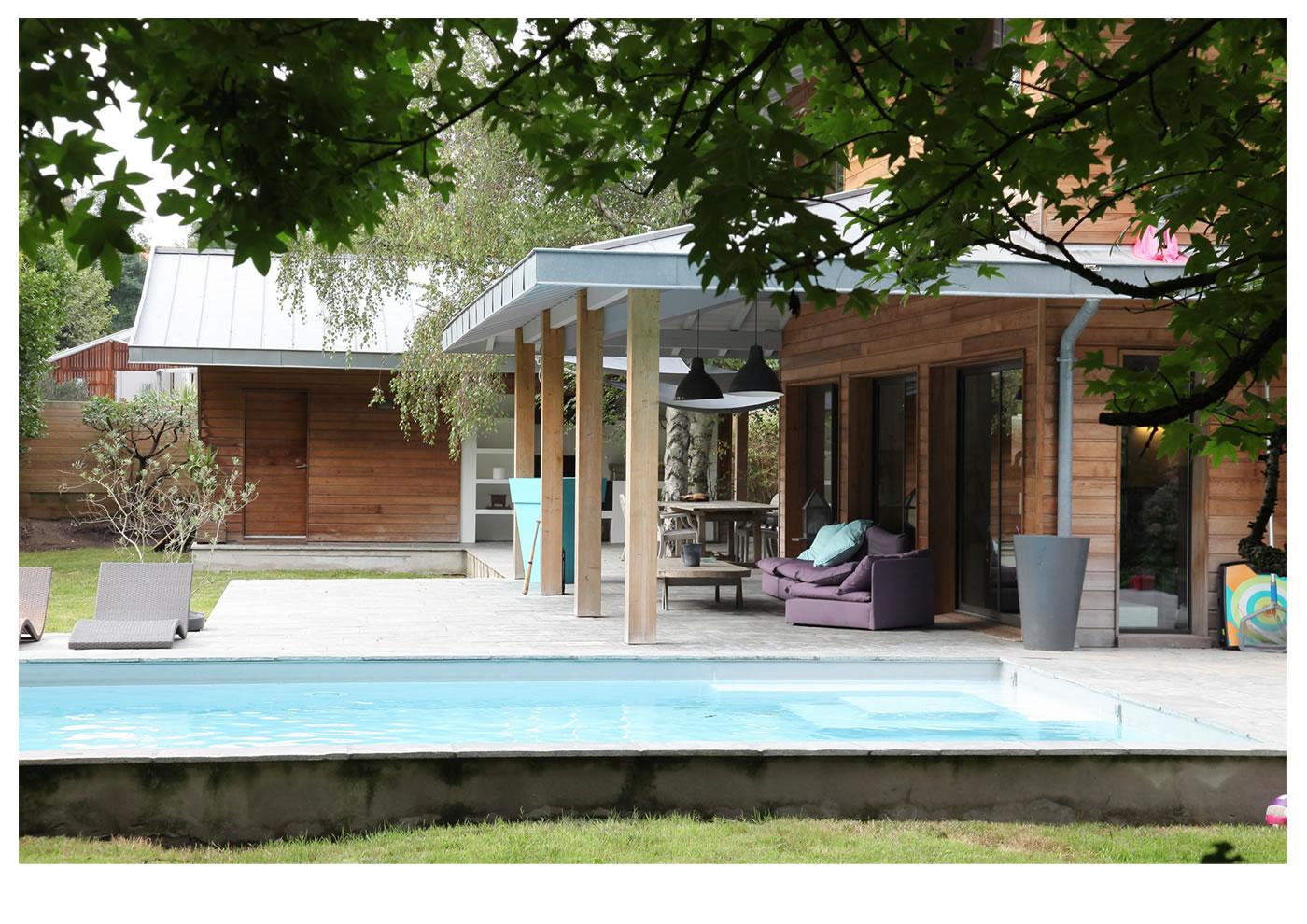 Architectes Alaman et Macdonald, exemple de réalisation de maison individuelle :