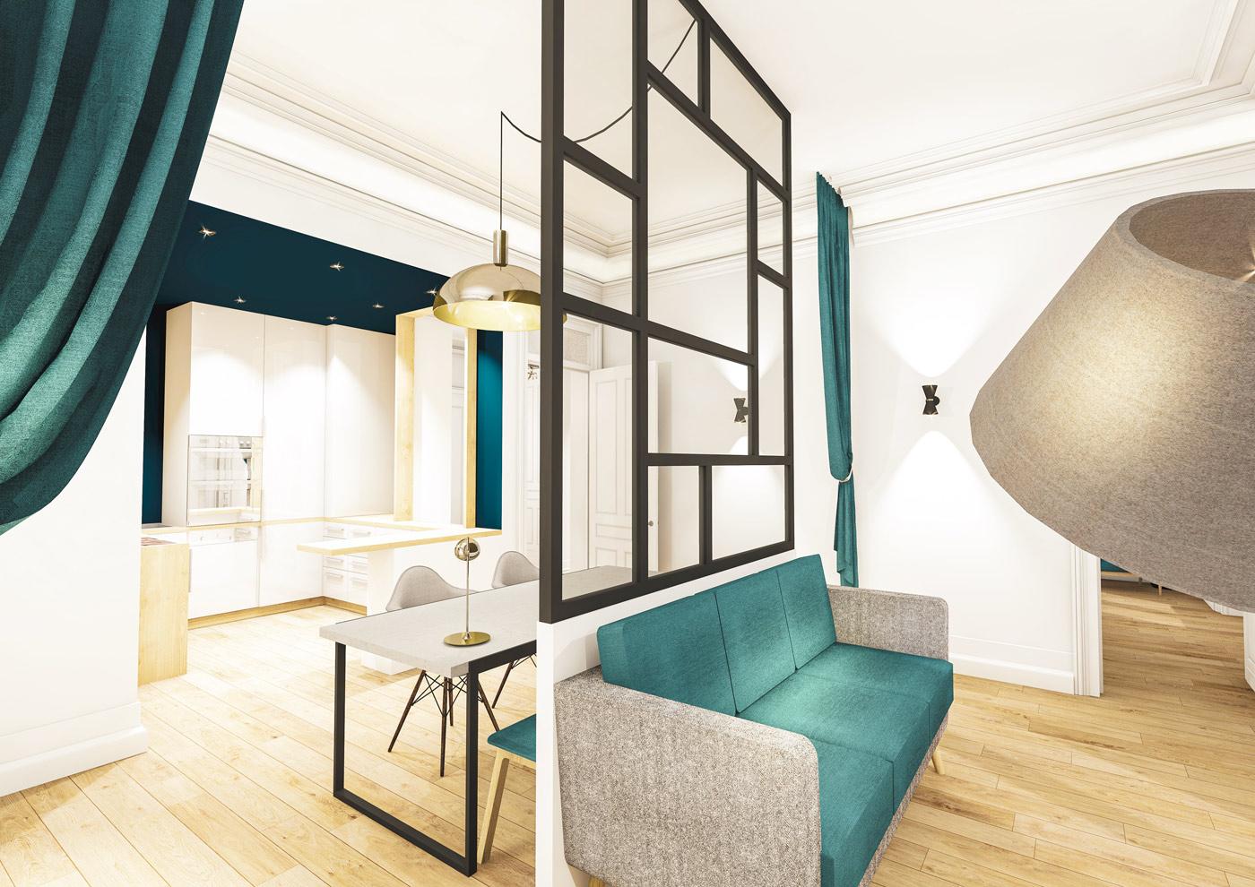 Alaman Macdonald Architecte Appartement Biarritz 2