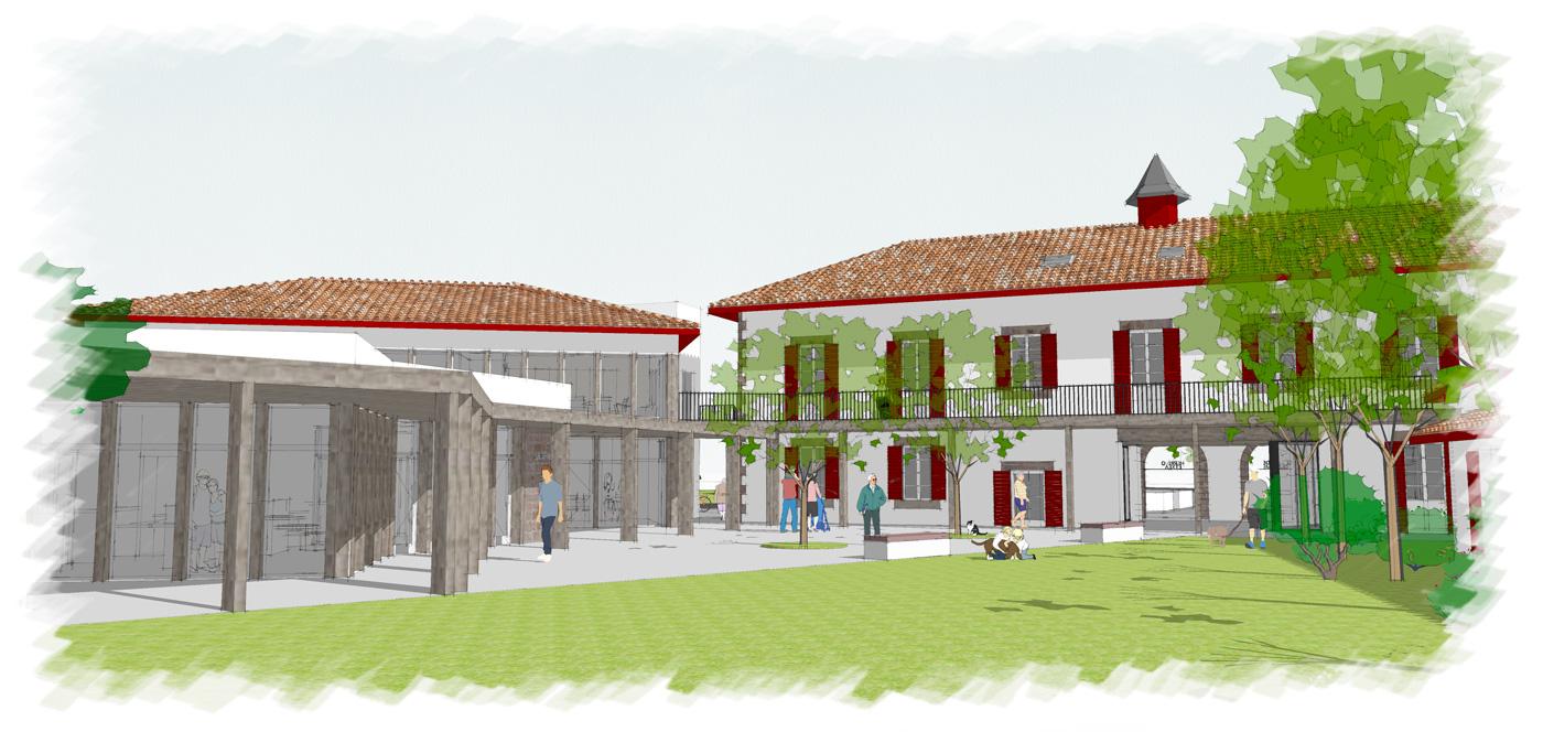 Alaman Macdonald Architecte Mairie Baigorri 4